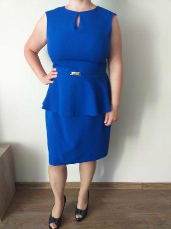 Elegancka sukienka r 46