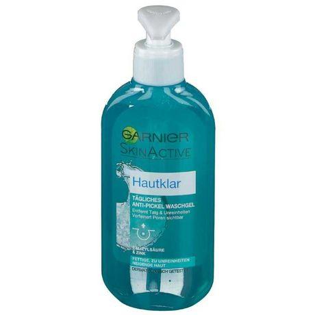 Garnier Skin Active Чиста шкіра / Чистая кожа гель для вмивання