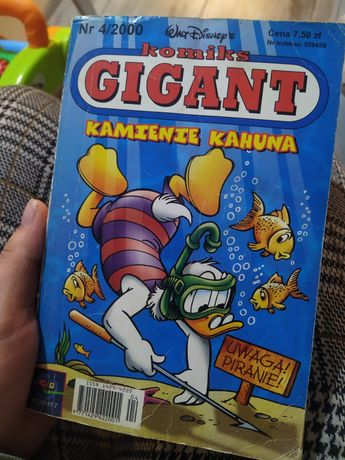 Komiks Gigant: Kamienie kahuna