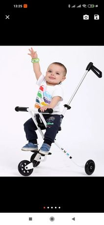 Каталка коляска супер модная, лёгкая и компактная