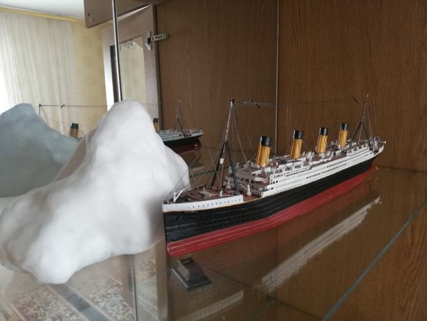 """Макет """"Титаник"""" 1:550"""