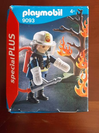Playmobil Bombeiro 9093 - Novo