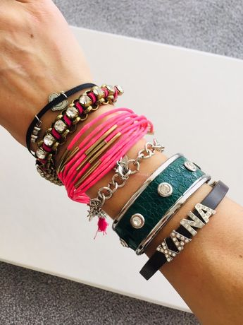 Várias pulseiras - Parfois e outras marcas