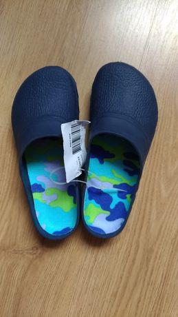 Crocs kroksy buty ogrodowe/na basen/plażowe Eco 32/33 włoskie nowe