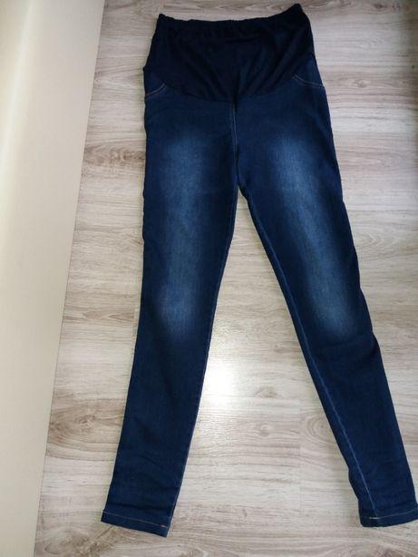 Spodnie ciążowe jak nowe,jeans 38