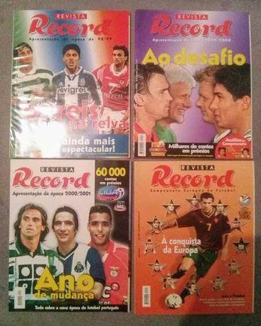 """Colecção de Revistas Jornal """"Record"""""""