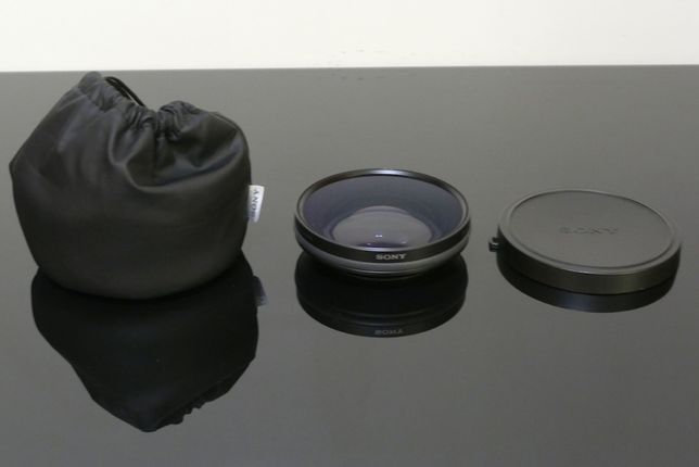 Lente conversora Sony VCL-DH0774 x0.75 Wide