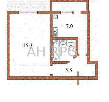 Продам 1-кімнатну квартиру, Святошинський р-н, Біличі