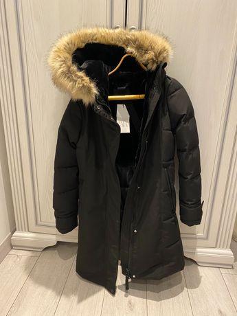 Зимнее новое пальто Зара хс