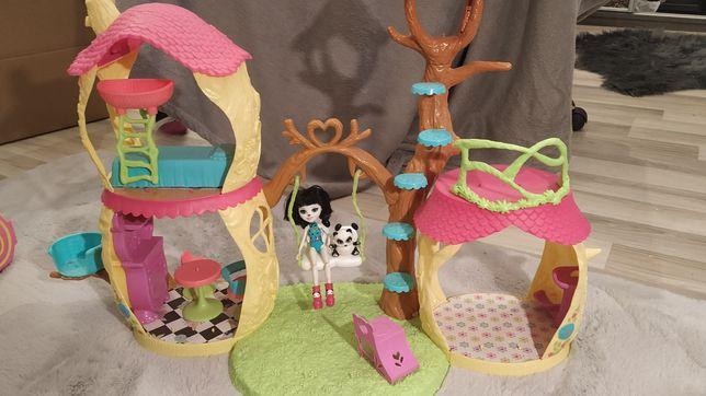 Enchantimals domek + panda