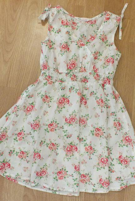 h&m sukienka letnie kwiaty 110