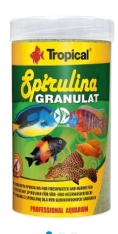 Tropical spirulina w granulacie - 100 ml