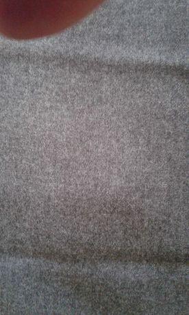 Ткань шерсть 100% темно-серая СССР