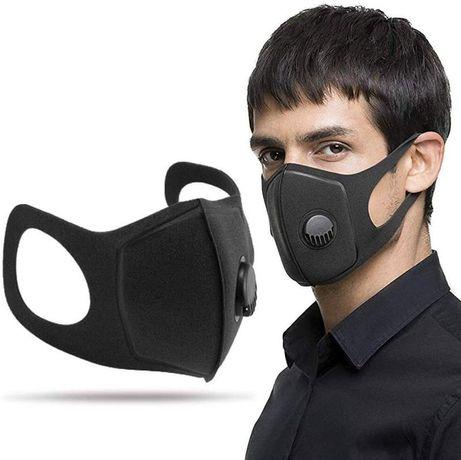 Маска питта с клапаном. Pitta mask. Респиратор многоразовый с фильтром