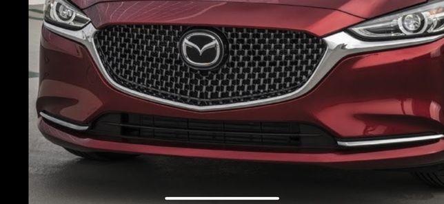 Мазда 6 2018 решетка Mazda 6 2018 2019 20 gl решетка радиатора бампер