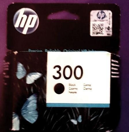 Czarny tusz HP 300 (cc640ee ba3) nowy, zaplombowany