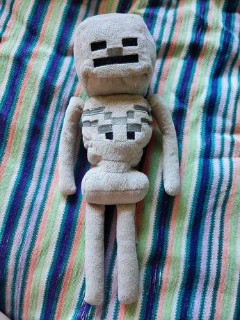 Мягкая игрушка скелет Майнкрафт