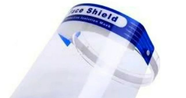 Прозора захисна маска  Face Shield екран щиток захист