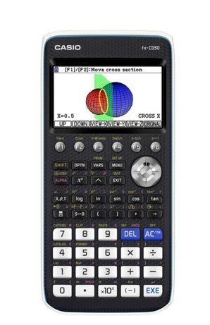 Calculadora grafia Casio fx-cg50