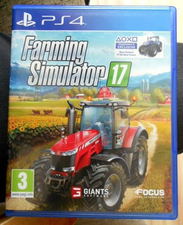 Farming Simulator 17 PL. - Ps4