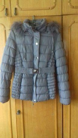 Продам подростковую теплую куртку