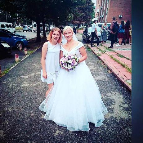 Свадебное платье обменяю срочно