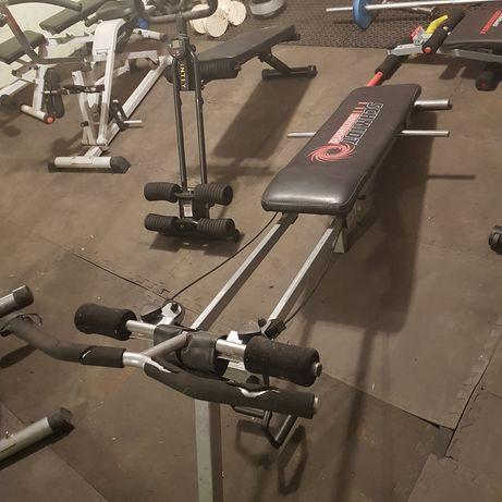 Siłownia ławka wioślarz do treningu