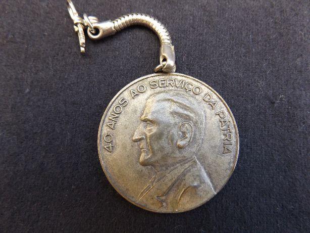SALAZAR – Medalha Homenagem - 1970 - RARA