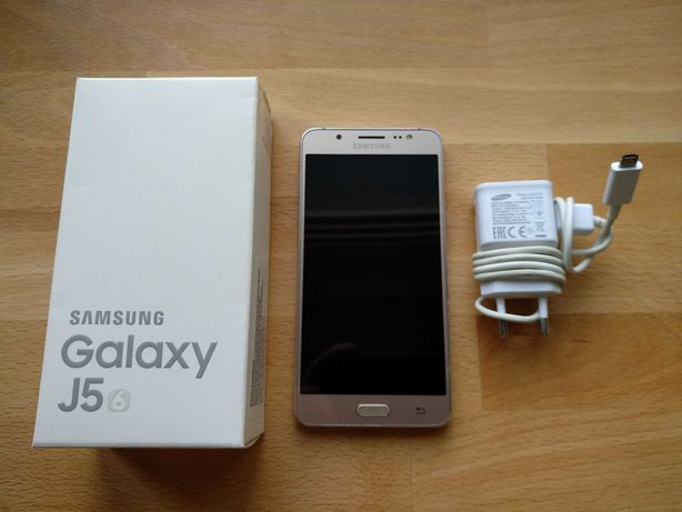 Smartfon Samsung Galaxy J5 6 SM-J510FN złoty