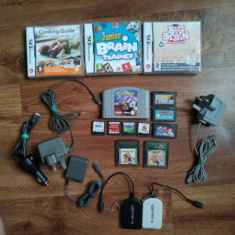 Nintendo DS,3DS,GBA,NINTENDO 64 картриджи и аксессуары