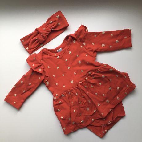 Платье-боди с солошкой