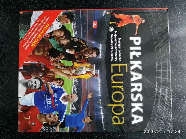 Książka Piłkarska Europa