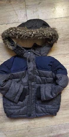 Rebel- sliczna kurtka na baranku- 86 cm