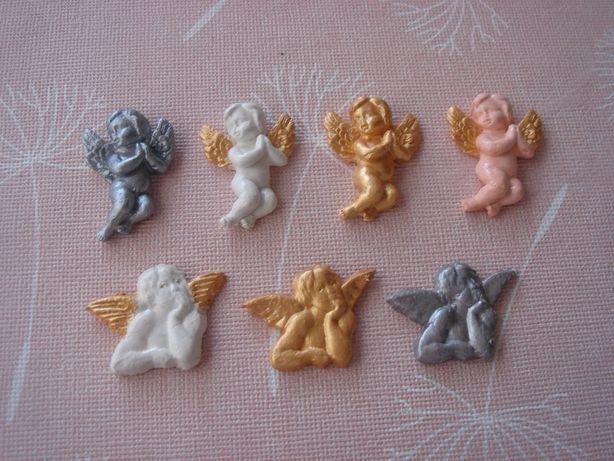 Фигурки для декорирования Ангел Холодный фарфор