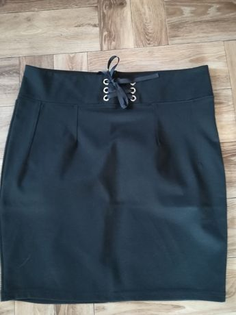 Spódnica czarna elegancka XL 42