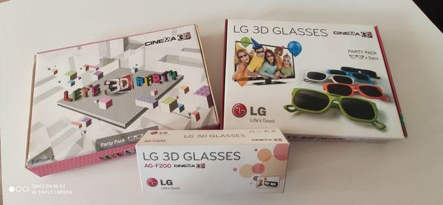 Okulary 3D do telewizorów LG