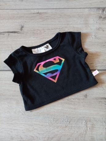 Одежда на мишку кошку зайца build-a-bear workshop футболка Superman