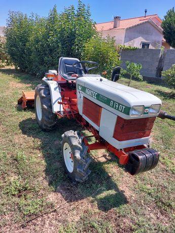 Tractor 17 cv com fresa