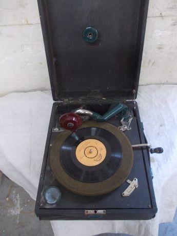 Zabytkowy patefon gramofon supralion sprawny