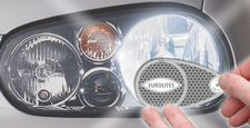 Lampa angielska naklejki konwerter UK-EU wszystkie pojazdy homologacja