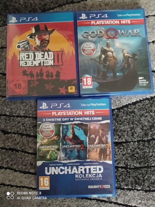 Sprzedam gry na PlayStation 4 Augustów - image 1