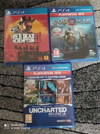 Sprzedam gry na PlayStation 4