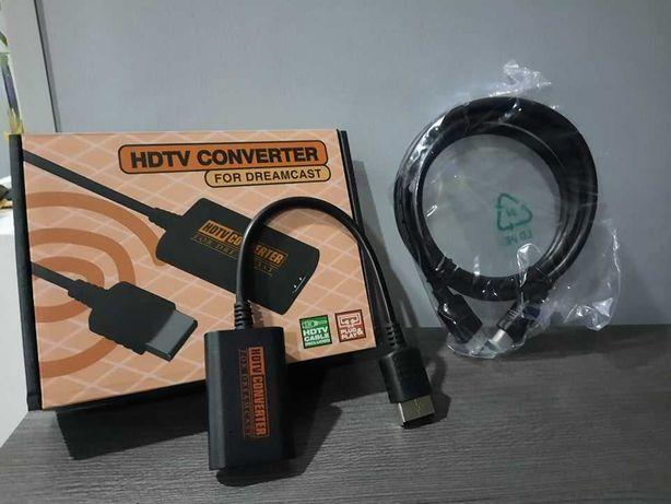 Conversor HDMI Dreamcast + Cabo HDMI