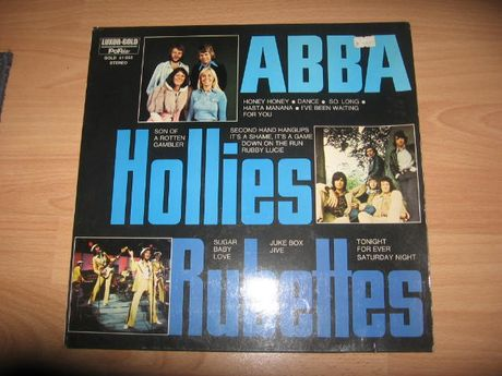 płyta winylowa abba the hollies the rubettes unikat