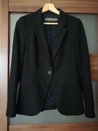 Klasyczny czarny elegancki żakiet marynarka Zara r. 36
