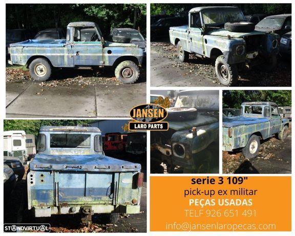 """Land Rover serie 3 109"""" pick-up peças usadas"""