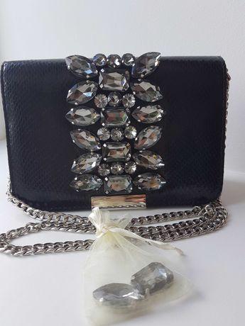 Новая роскошная вечерняя сумка с камнями. Оригинал