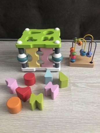 Сортер кубика cubika лабиринт