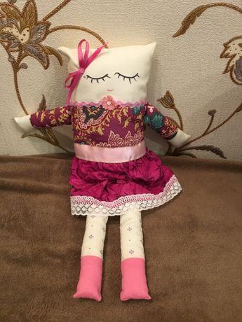 Новая оригинальная детская кукла кошка Hande Made (обмен нет)