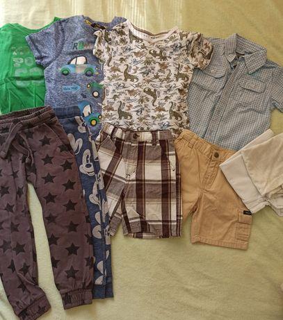 Одяг 2-3-4 роки шорти, футболка, сорочка, спортивні штани